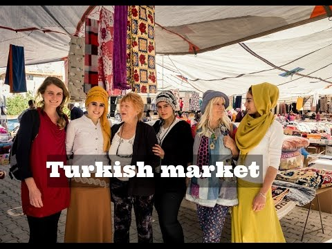 VISITING AUTHENTIC TURKISH MARKETS