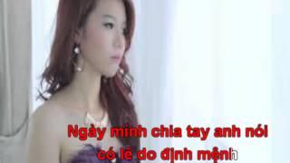 Em sợ định mệnh- Kim Ny Ngọc- karaoke- BEAT
