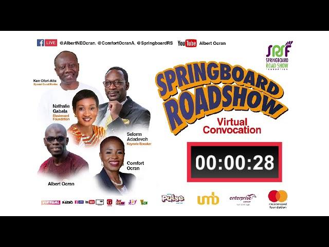 Springboard Virtual Convocation 2021