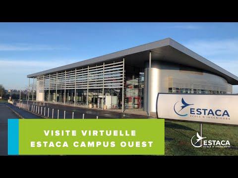 Visite virtuelle du campus Laval de l'ESTACA