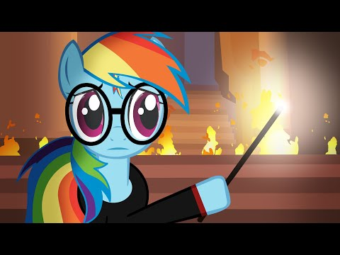 Harry Potter Re-enacted by Ponies