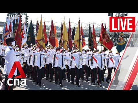 [LIVE HD] Singapore National Day 2021: Ceremonial parade