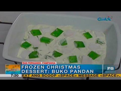 Unang Hirit: Frozen Christmas Dessert: Buko Pandan