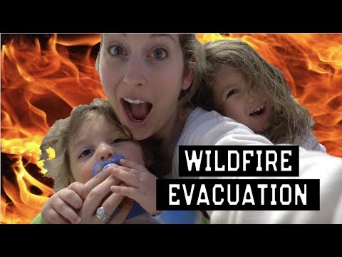 CALIFORNIA WILDFIRE | POSSIBLE EVACUATION | DANGEROUS AIR QUALITY | Life with Jackie family vlog