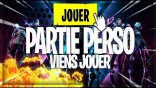 [LIVE FORTNITE] PARTIE PERSO - MOVING ZONE