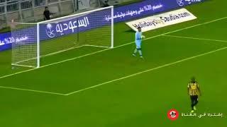 هدف  دبل كيك عمر السومة على نادي الاتحاد.وجنون المعلق فهد العتيبي