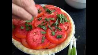 Tomato Pie Recipe   Savory Tomato Recipes