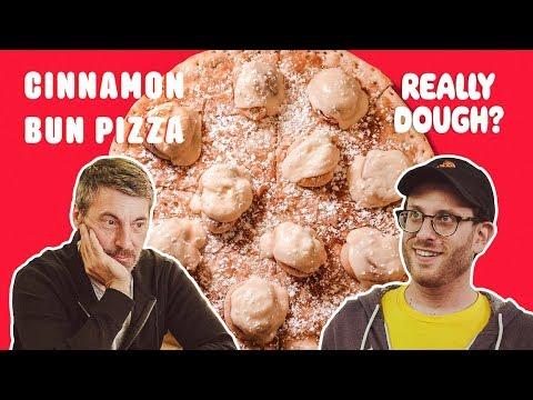 Cinnamon Bun Pizza: Pizza or Dessert?    Really Dough?