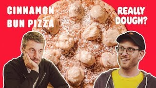 Cinnamon Bun Pizza: Pizza or Dessert? || Really Dough?