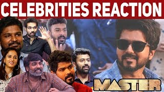 Master - Kutti Story Celebrities Reaction | Thalapathy Vijay | Anirudh | Lokesh Kanagaraj