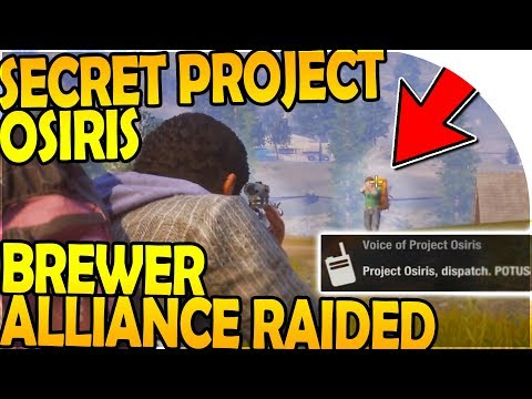 SECRET PROJECT OSIRIS - BREWER ALLIANCE RAIDED! ( State of Decay 2 Gameplay Part 11 )