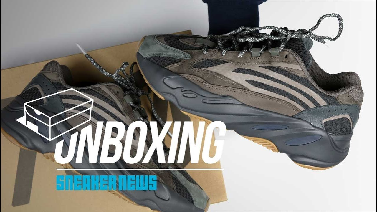 3f343a6d0 adidas Yeezy 700 Geode Unboxing + Review - YouTube