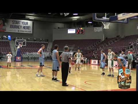 1A Boys Basketball: Piute vs Wendover High School UHSAA 2019 State Tournament Round 1