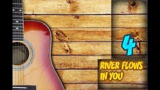 RIVER FLOWS IN YOU │ НА ГИТАРЕ │КРАСИВО))