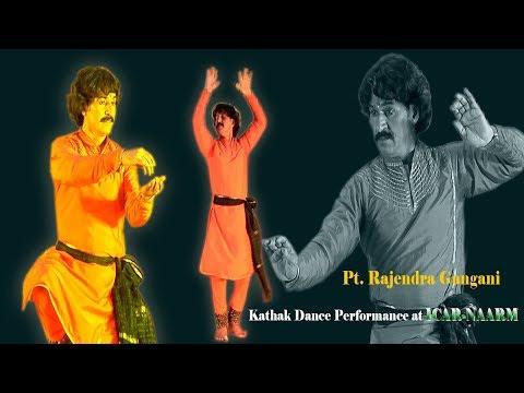 Pt  Rajendra Gangani Kathak Performace At ICAR NAARM Hyderabad On 30th June 2018
