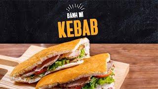 Cách làm bánh mì doner kebab ngon nhất | hướng nghiệp Á Âu