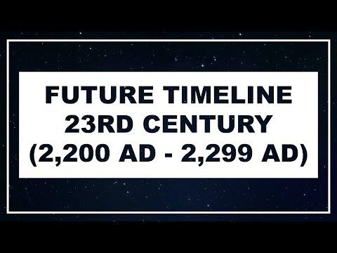 Future Timeline  23rd Century 22002299