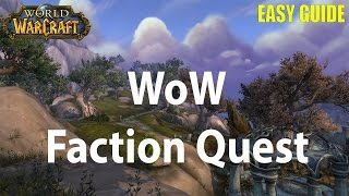 The Wardens - Faction World Quest in Legion