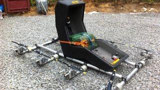 механик 80 лвл сделал самодельный мультикоптер из газонокосилки и водительского сидения