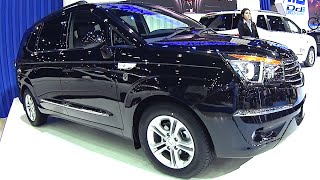 2016, 2017 Ssangyong Stavic Rodius Turismo Full Size Luxury Van : Mpv