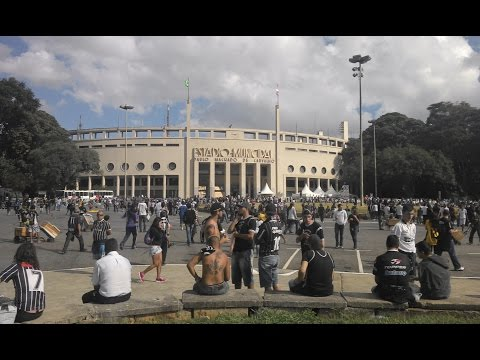 Despedida inesquecível do Pacaembu - COR 2 x FLA 0 Brasileirão 2014