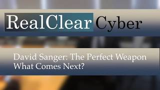 David Sanger: Cyber War, What Comes Next? Pt 5