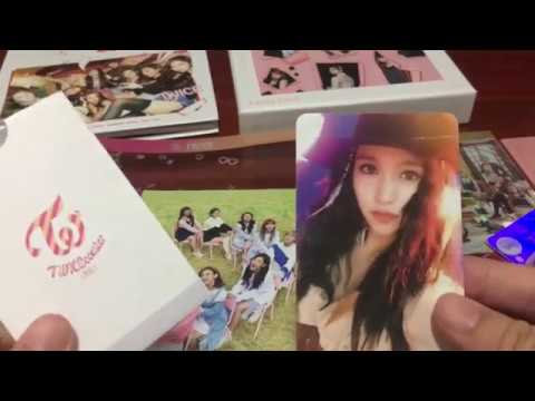 Kwin Shen's Unboxing Twicetagram Thai edition Youtube Video
