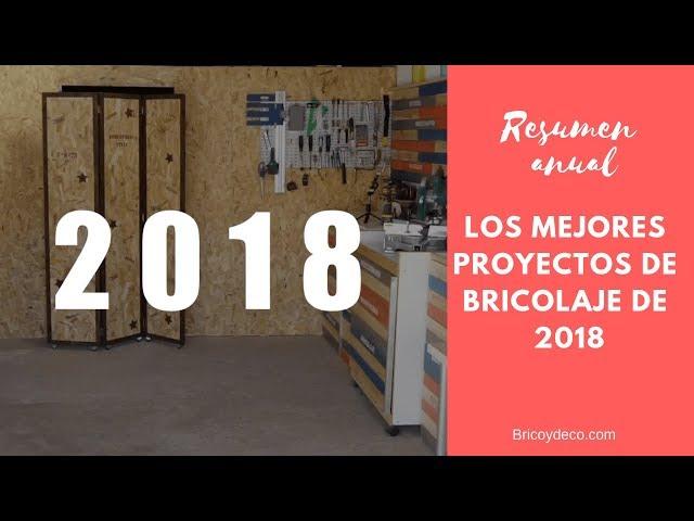 Mejores Proyectos de Bricolaje de 2018 | BRICOLAJE DECORACION CARPINTERIA RECICLAJE