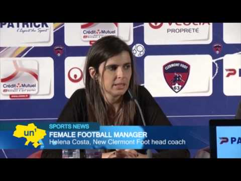 World's First Female Football Manager: Helena Costa appointed by French Ligue 2 team Clermont Foot