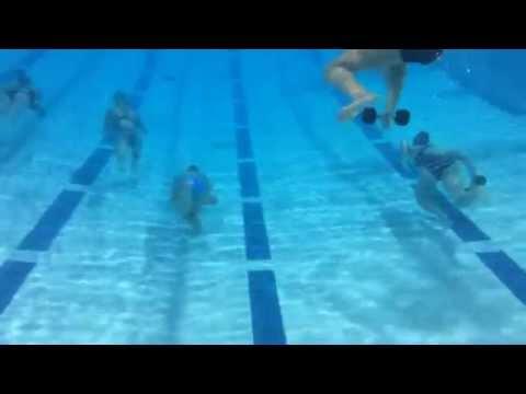 Power kicking set @Palo Alto Stanford Aquatics
