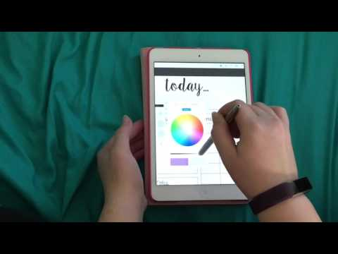 how i use my digital bullet journal