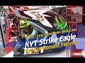 VLOG : Intip Detail helm Cross  KYT Strike Eagle Romain Febvre Replica