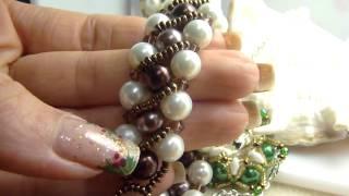 creazioni bijoux gioielli fai da te idee per natale e mercatini espositore collane