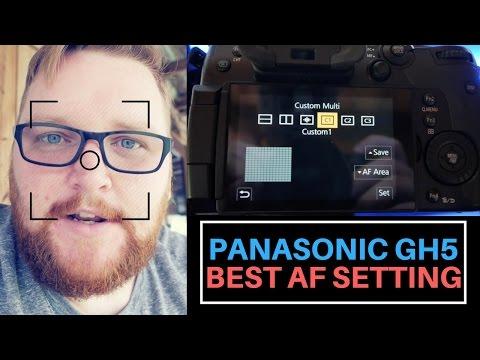 Panasonic GH5 - Autofocus Best Settings - Panasonic GH5 AF Fix
