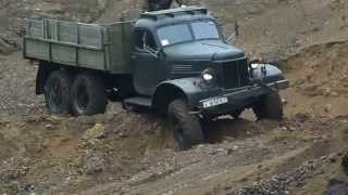 ZIL 157 off-road test
