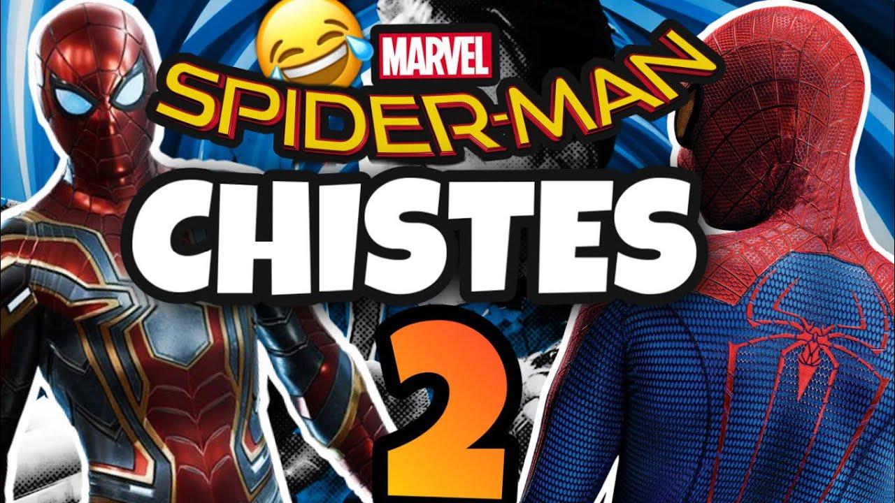 SPIDERMAN contando CHISTES 2