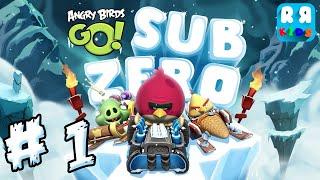 Angry Birds GO! - Sub Zero Part 1 - Walktrough Gameplay