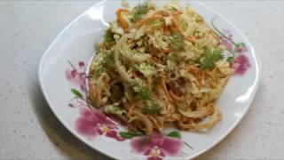 ВкусНейший салат из тунца и пекинской капусты