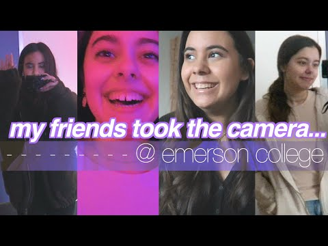 My Friends Vlog For The Day!! At Emerson College