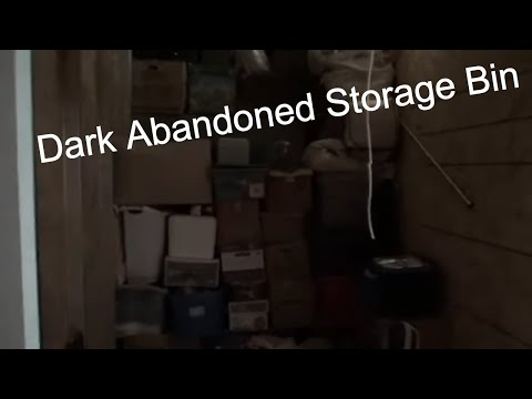 I Bought Dark Abandoned Storage Bin Haunted By Ghosts