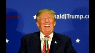 Almost Nothing Can Make Sociopath Trump Laugh. Almost.