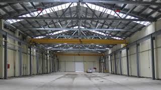 видео Строительство ангаров и складов