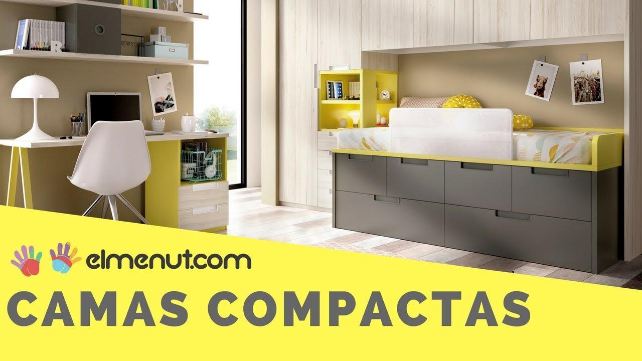 Camas compactas para habitaciones infantiles y juveniles for Camas compactas juveniles