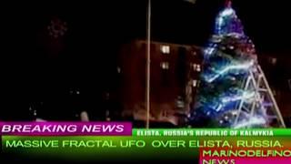 UNCANNY FRACTAL UFO OVER KALMYKIA, RUSSIA.