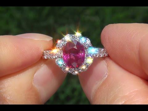 gia-unheated-natural-vs1-ruby-diamond-14k-white-gold-cocktail-estate-ring---a133168