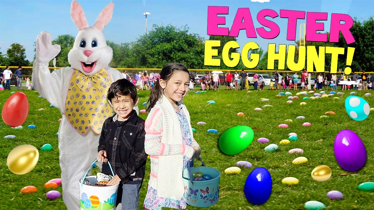 Easter Egg Hunt 2017 Me And My Kids Youtube