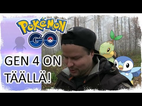 POKEMON GO - GEN 4 ON TÄÄLLÄ!! SE ON 100 IV?