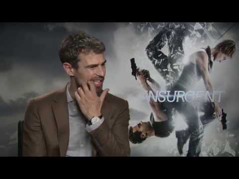 Theo James talks sex positions in raunchy Insurgent