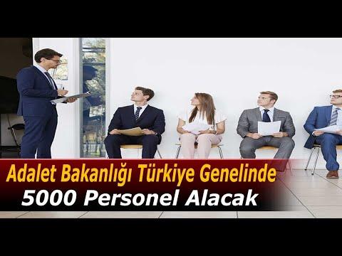 Adalet Bakanlığı 5000 Uzlaştırmacı Personel Alımı