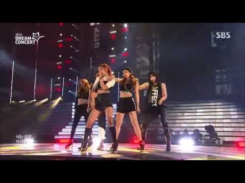 [HD 1080p] 150531 4MINUTE - Crazy @ Dream Concert 2015 | 포미닛 - 미쳐